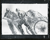 view Fisherman Hauling Cart [art work] / (photographed by Peter A. Juley & Son) digital asset number 1