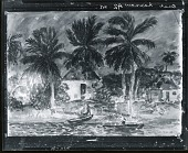 view Moonlight on Andros Island [painting] / (photographed by Peter A. Juley & Son) digital asset number 1