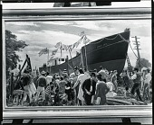 view Shipbuilding #2 [painting] / (photographed by Peter A. Juley & Son) digital asset number 1