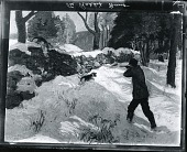 view Rabbit Hunting [painting] / (photographed by Peter A. Juley & Son) digital asset number 1