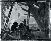 view The Sinews of War [painting] / (photographed by Peter A. Juley & Son) digital asset number 1