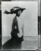 view Portrait of Mrs. Bohm (Zella Newcomb Bohm) [painting] / (photographed by Peter A. Juley & Son) digital asset number 1