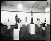 view Installation view of John Hovannes Memorial Exhibition at Art Students League, 1973 [photograph] / (photographed by Peter A. Juley & Son) digital asset number 1