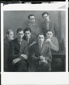 view Group of Artists [painting] / (photographed by Peter A. Juley & Son) digital asset number 1