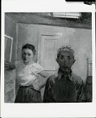 view Self-portrait with Wife [painting] / (photographed by Peter A. Juley & Son) digital asset number 1
