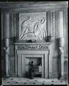 view Interior with bas-relief [photograph] / (photographed by Peter A. Juley & Son) digital asset number 1
