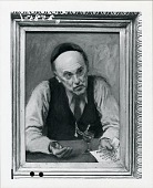 view Portrait of David Burliuk [painting] / (photographed by Peter A. Juley & Son) digital asset number 1