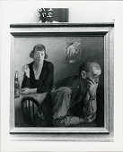 view Couple in an Interior [art work] / (photographed by Peter A. Juley & Son) digital asset number 1