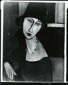 view Jeanne Hébuterne au chapeau [painting] / (photographed by Peter A. Juley & Son) digital asset number 1