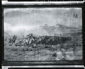 view Buffalo Hunt [painting] / (photographed by Peter A. Juley & Son) digital asset number 1