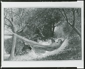 view Girl in a Hammock [painting] / (photographed by Peter A. Juley & Son) digital asset number 1