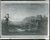 view Landscape with Classical Ruins [painting] / (photographed by Peter A. Juley & Son) digital asset number 1