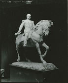 view General Philip Henry Sheridan (unfinished model) [sculpture] / (photographed by Peter A. Juley & Son) digital asset number 1