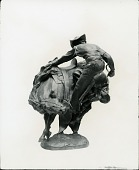 view Rough Rider [sculpture] / (photographed by Peter A. Juley & Son) digital asset number 1