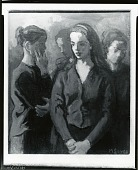 view Four Women [painting] / (photographed by Peter A. Juley & Son) digital asset number 1