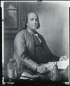 view Benjamin Franklin [painting] / (photographed by Peter A. Juley & Son) digital asset number 1