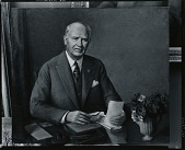 view Mr. Macmillan [painting] / (photographed by Peter A. Juley & Son) digital asset number 1