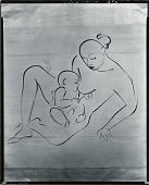 view Mother and Child [drawing] / (photographed by Peter A. Juley & Son) digital asset number 1