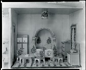 view Stettheimer Dollhouse: The Rose Bedroom, [decorative arts] / (photographed by Peter A. Juley & Son) digital asset number 1