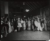 view Group in costume at the Ogunquit School of Painting and Sculpture, Ogunquit, Maine [photograph] / (photographed by Peter A. Juley & Son) digital asset number 1
