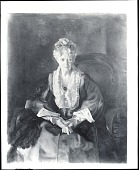view Mrs. T. in Wine Silk [painting] / (photographed by Peter A. Juley & Son) digital asset number 1