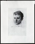 view Head of Gerald [drawing] / (photographed by Peter A. Juley & Son) digital asset number 1