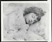 view Mary Asleep [drawing] / (photographed by Peter A. Juley & Son) digital asset number 1