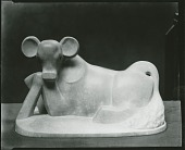 view Seated Calf [sculpture] / (photographed by Peter A. Juley & Son) digital asset number 1