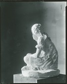 view Dahlov Sitting with Crossed Legs [sculpture] / (photographed by Peter A. Juley & Son) digital asset number 1