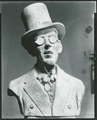 "view ""Pop"" Hart in High Hat [sculpture] / (photographed by Peter A. Juley & Son) digital asset number 1"