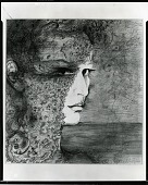view Self-Portrait [drawing] / (photographed by Peter A. Juley & Son) digital asset number 1