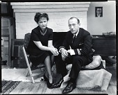 view Hedda Sterne and Saul Steinberg [photograph] / (photographed by Peter A. Juley & Son) digital asset number 1