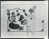 view Female with a Gun [drawing] / (photographed by Peter A. Juley & Son) digital asset number 1