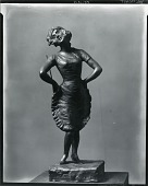 """view Lenore Ulrich as """"Lulu Belle"""" [sculpture] / (photographed by Peter A. Juley & Son) digital asset number 1"""