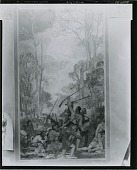 view Study for George Rogers Clark Memorial Mural [painting] / (photographed by Peter A. Juley & Son) digital asset number 1