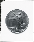 view The Cullum Geographical Medal (reverse) [sculpture] / (photographed by Peter A. Juley & Son) digital asset number 1