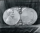 view Abraham Lincoln Desk Medal [sculpture] / (photographed by Peter A. Juley & Son) digital asset number 1