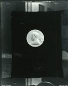 view American Academy of Arts and Letters - Medal for Good Diction on the Radio (obverse) [sculpture] / (photographed by Peter A. Juley & Son) digital asset number 1