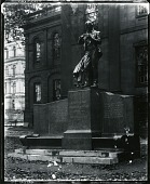 view Joseph Henry Memorial [sculpture] / (photographed by Peter A. Juley & Son) digital asset number 1