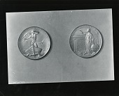 view The Cullum Geographical Medal (obverse and reverse) [sculpture] / (photographed by Peter A. Juley & Son) digital asset number 1