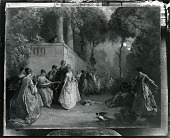 view Women in a Garden [painting] / (photographed by Peter A. Juley & Son) digital asset number 1