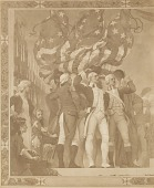 view Washington Offering Up His Commission as General of the Army, [photomechanical print] digital asset number 1