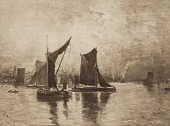 view On the Thames, [photomechanical print] digital asset number 1