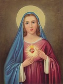 view Immaculate Heart of Mary, [photomechanical print] digital asset number 1