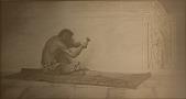 view The Aztec Sculptor, [photomechanical print] digital asset number 1