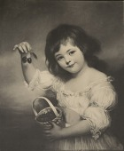 view Girl with Cherries, [photomechanical print] digital asset number 1