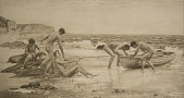 view The Bathers [photomechanical print] digital asset number 1