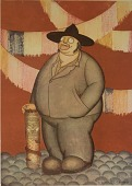 view Caricature of Diego Rivera, [photomechanical print] digital asset number 1