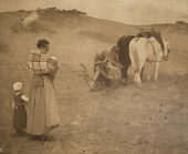 view Ploughing Scene, [photomechanical print] digital asset number 1