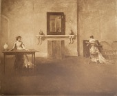 view Writing a Letter, [photomechanical print] digital asset number 1